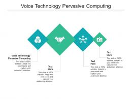 Voice Technology Pervasive Computing Ppt Powerpoint Presentation Styles Layout Cpb