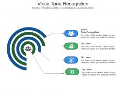 Voice Tone Recognition Ppt Powerpoint Presentation Show Styles Cpb
