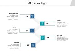 VOIP Advantages Ppt Powerpoint Presentation Show Master Slide Cpb
