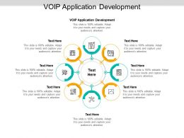 VOIP Application Development Ppt Powerpoint Presentation Ideas Mockup Cpb