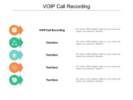 VOIP Call Recording Ppt Powerpoint Presentation Layouts Vector Cpb