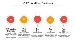 VOIP Landline Business Ppt Powerpoint Presentation Outline Example Cpb