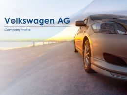 Volkswagen Ag Company Profile Overview Financials And Statistics From 2014-2018