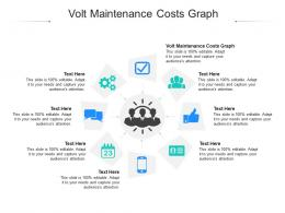Volt Maintenance Costs Graph Ppt Powerpoint Presentation Outline Files Cpb