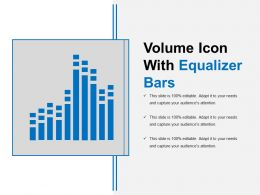 Volume Icon With Equalizer Bars