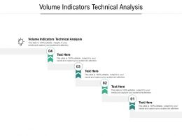 Volume Indicators Technical Analysis Ppt Powerpoint Presentation Professional Backgrounds Cpb