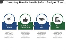 Voluntary Benefits Health Reform Analyzer Tools Time Value