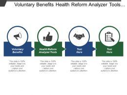 Voluntary Benefits Health Reform Analyzer Tools Time Value