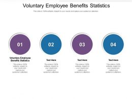 Voluntary Employee Benefits Statistics Ppt Powerpoint Presentation Icon Slide Portrait Cpb
