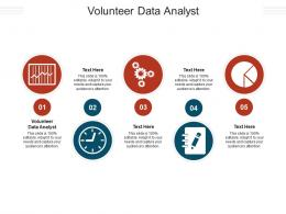Volunteer Data Analyst Ppt Powerpoint Presentation Show Elements Cpb