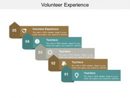 Volunteer Experience Ppt Powerpoint Presentation Slides Ideas Cpb