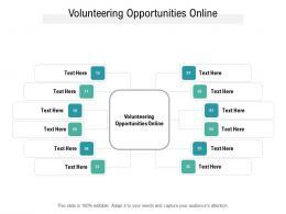 Volunteering Opportunities Online Ppt Powerpoint Presentation Gallery Graphics Cpb