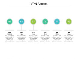 VPN Access Ppt Powerpoint Presentation Infographic Template Infographics Cpb