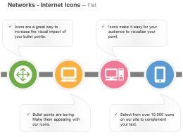 Vpn Coordinator Client Mobile Client Ppt Icons Graphics