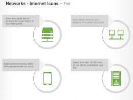 Vpn Mobile Client Office Network Intranet Server Vpn Router Ppt Icons Graphics