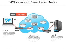 Vpn Network With Server Lan And Nodes