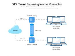 VPN Tunnel Bypassing Internet Connection