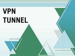 VPN Tunnel Structure Architecture Corporate Internet Connection Servers Network
