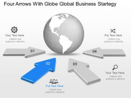 vq_four_arrows_with_globe_global_business_strategy_powerpoint_template_Slide03