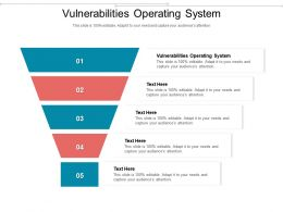 Vulnerabilities Operating System Ppt Powerpoint Presentation Styles Inspiration Cpb