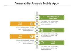 Vulnerability Analysis Mobile Apps Ppt Powerpoint Presentation File Topics Cpb