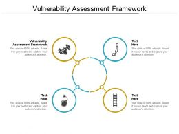 Vulnerability Assessment Framework Ppt Powerpoint Presentation Summary Cpb