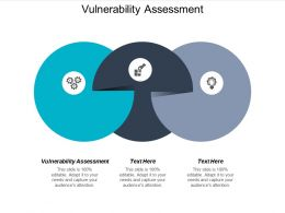 Vulnerability Assessment Ppt Powerpoint Presentation Styles Templates Cpb