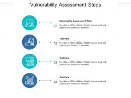 Vulnerability Assessment Steps Ppt PowerPoint Presentation Portfolio Graphic Tips Cpb