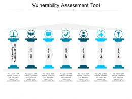 Vulnerability Assessment Tool Ppt Powerpoint Presentation Show Portfolio Cpb