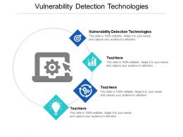 Vulnerability Detection Technologies Ppt Powerpoint Presentation Inspiration Cpb