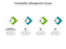 Vulnerability Management Scope Ppt Powerpoint Presentation Layouts Cpb
