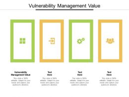 Vulnerability Management Value Ppt Powerpoint Presentation Outline Summary Cpb