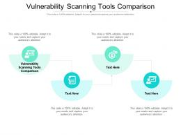 Vulnerability Scanning Tools Comparison Ppt Powerpoint Presentation Infographic Template Templates Cpb