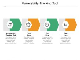 Vulnerability Tracking Tool Ppt Powerpoint Presentation Clipart Cpb