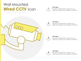 Wall Mounted Wired CCTV Icon