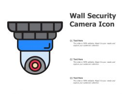 Wall Security Camera Icon