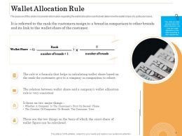 Wallet Allocation Rule Brands Ppt Powerpoint Presentation Pictures Ideas