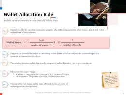 Wallet Allocation Rule Second Choice Powerpoint Presentation Objects