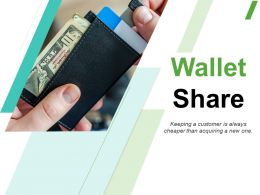 Wallet Share Powerpoint Presentation Slides
