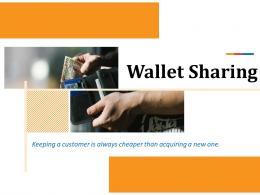 Wallet Sharing Powerpoint Presentation Slides
