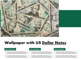 Wallpaper With Us Dollar Notes