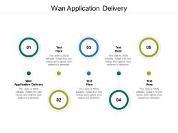 Wan Application Delivery Ppt Powerpoint Presentation Inspiration Visual Aids Cpb