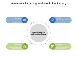 Warehouse Barcoding Implementation Strategy Ppt Powerpoint Presentation Gallery Example Introduction Cpb