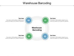 Warehouse Barcoding Ppt Powerpoint Presentation Template Cpb