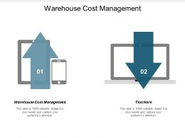 Warehouse Cost Management Ppt Powerpoint Presentation Summary Cpb