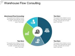 Warehouse Flow Consulting Ppt Powerpoint Presentation Portfolio Clipart Cpb