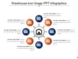 Warehouse Icon Image Ppt Infographics