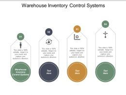Warehouse Inventory Control Systems Ppt Powerpoint Presentation Portfolio Guidelines Cpb