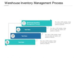 Warehouse Inventory Management Process Ppt Powerpoint Slides Cpb
