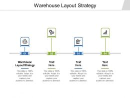 Warehouse Layout Strategy Ppt Powerpoint Presentation Inspiration Ideas Cpb
